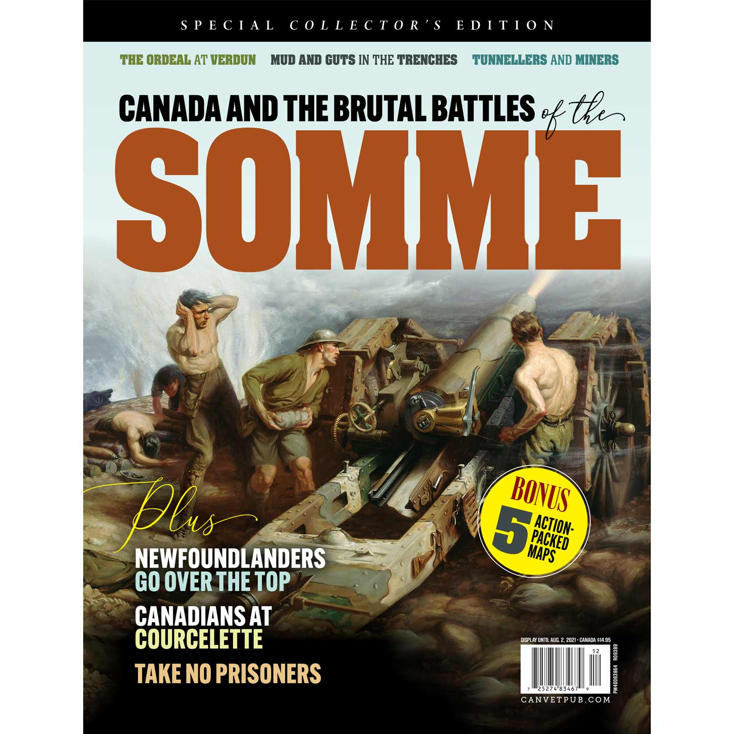 Canada and the brutal battles of the Somme – Shop | Legion Magazine